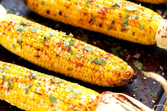 Grilled Corn from Blissful Basil