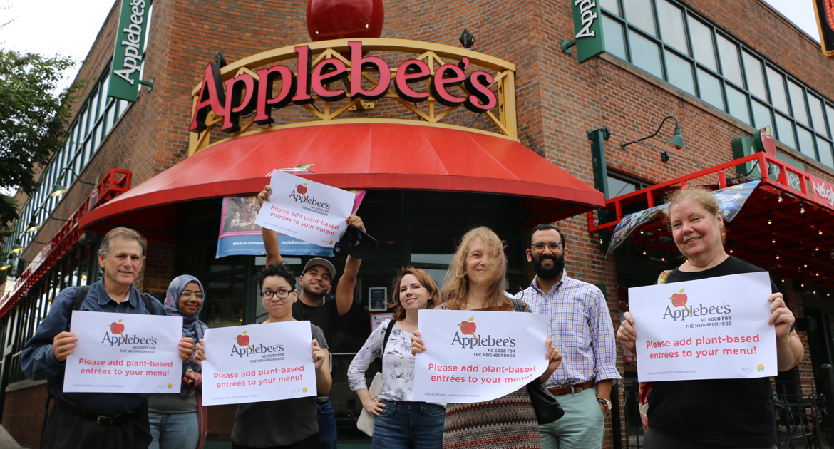 applebees plant-based menu