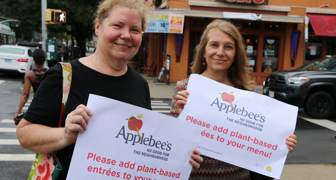 take action applebees
